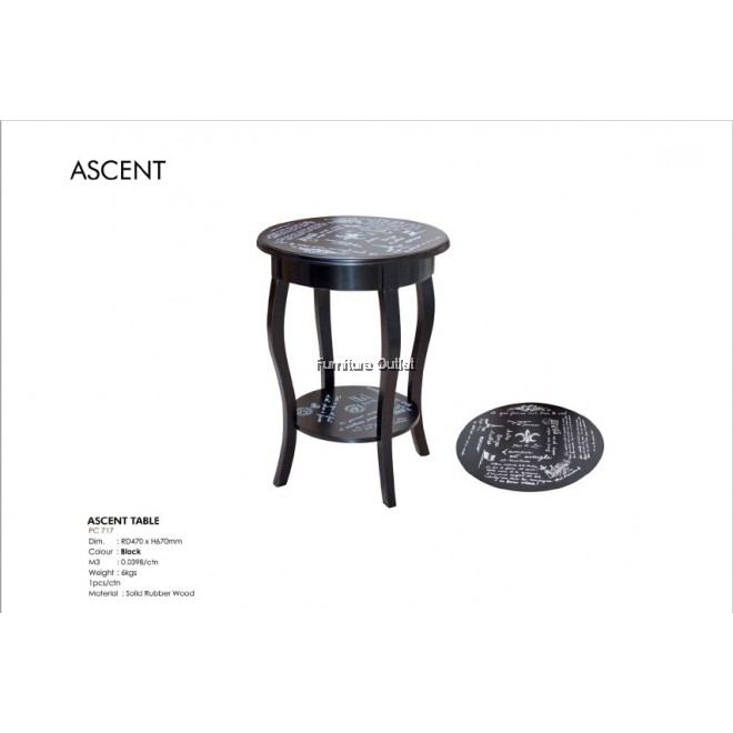 ASCENT TABLE - BLACK