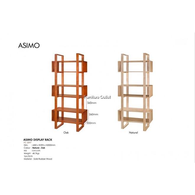 ASIMO DISPLAY RACK - OAK / NATURAL