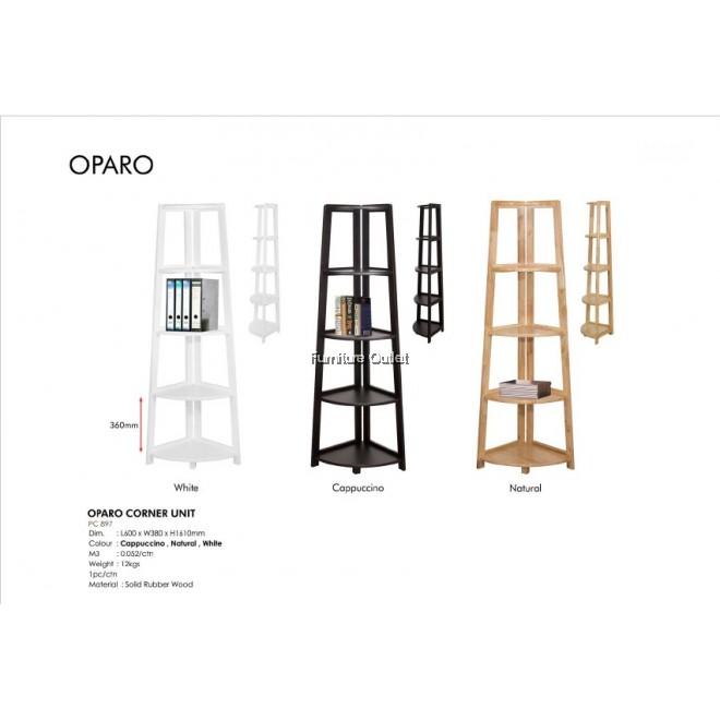 OPARO CORNER UNIT - WHITE / NATURAL / CAPPUCCINO