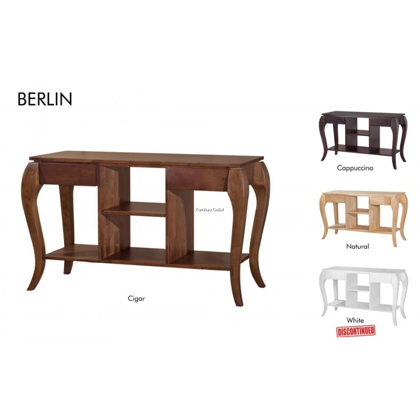 BERLIN MIRROR FRAME / + CONSOLE TABLE