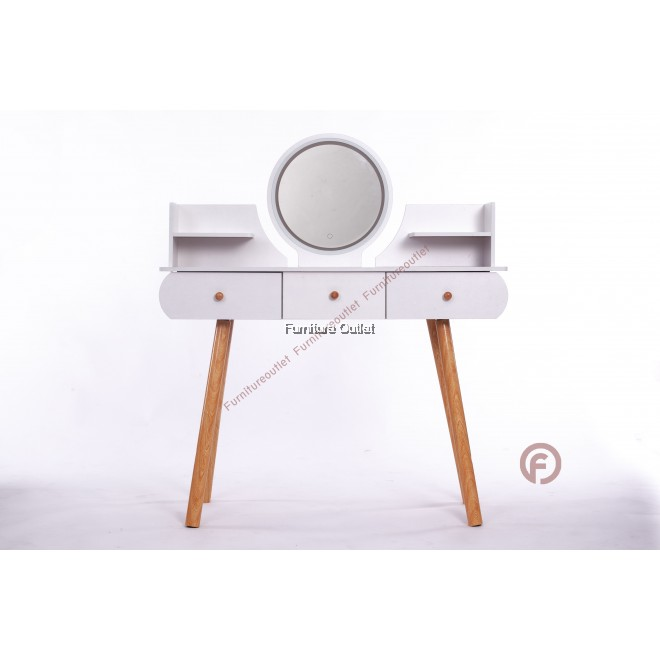 DRESSING TABLE WITH LED MIRROR