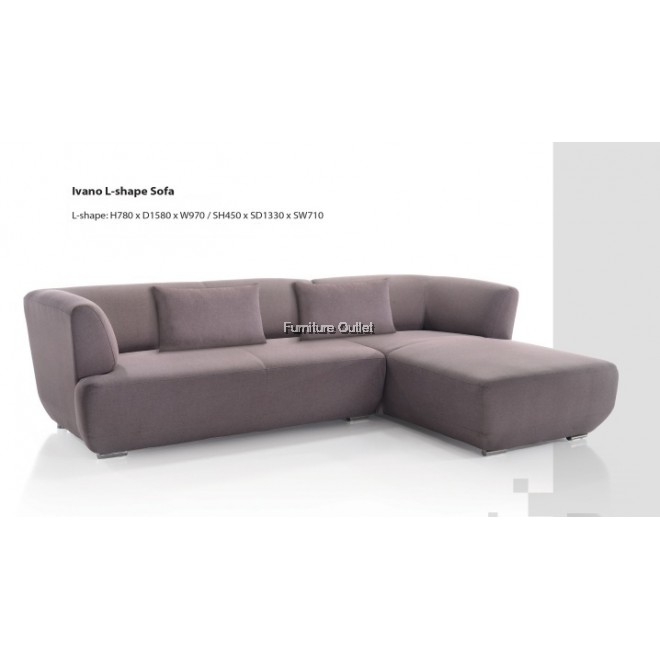 Ivano L shape sofa
