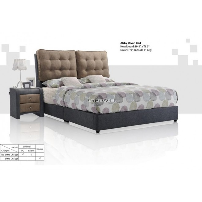 Abby divan bed set