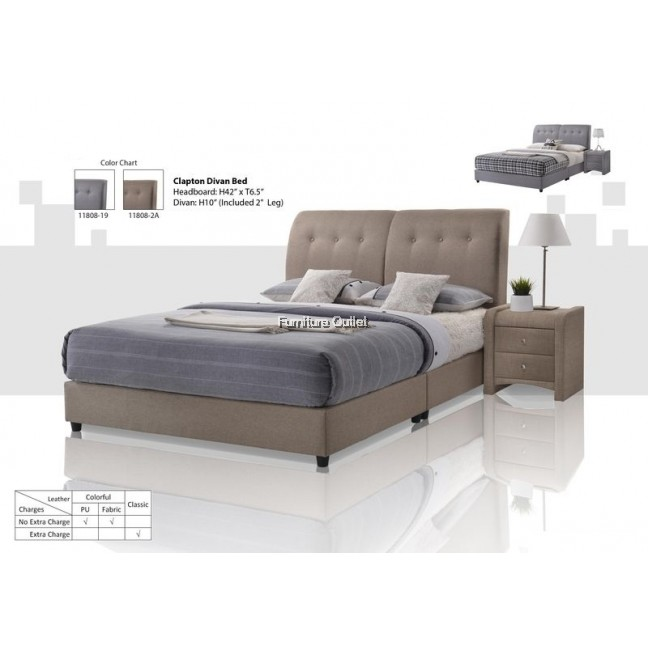 Clapton Divan Bed