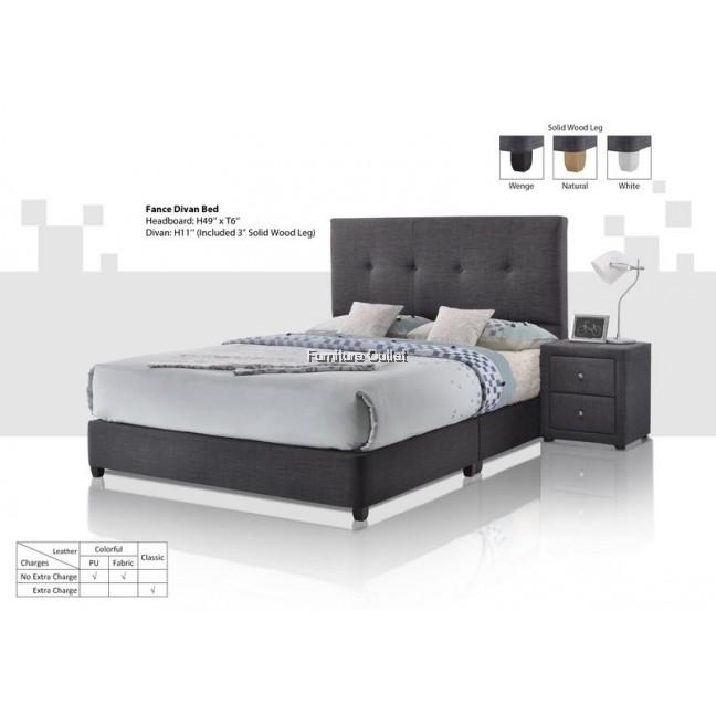 Fance Divan Bed