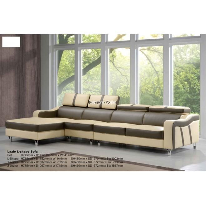 Lazio L-shape Sofa