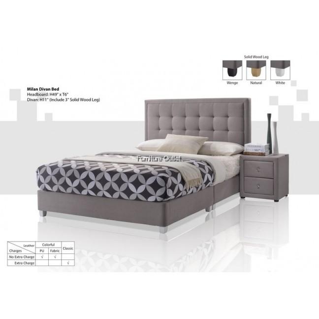 Milan Divan Bed