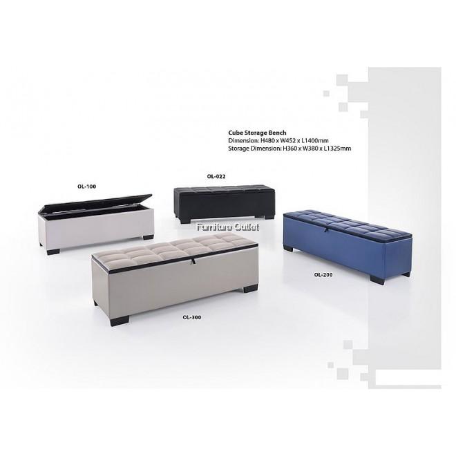Cube Storage Bench