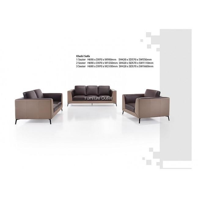 Khobi Sofa 1+2+3