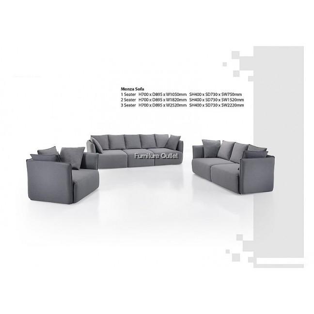 Monza Sofa 1+2+3