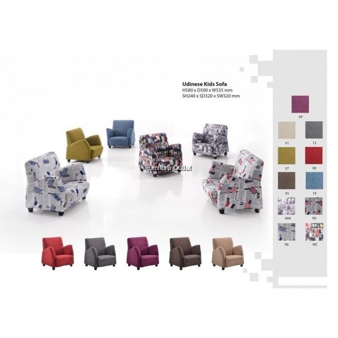 Udinese Kids Sofa