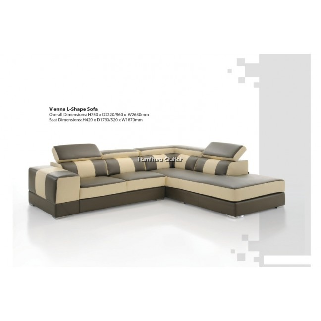 Vienna L-shape Sofa