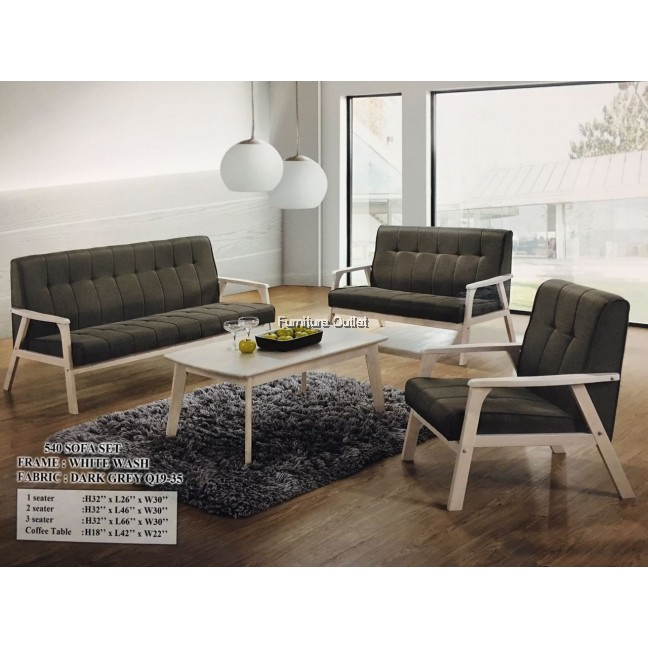 540 sofa set +coffee table