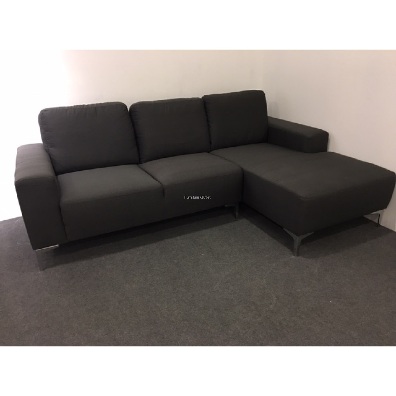 Milux L shape sofa - 3 seater