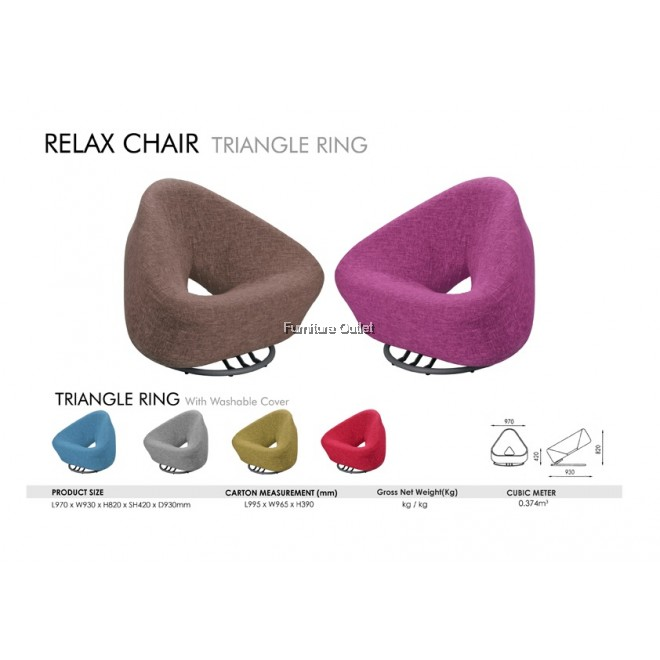 Triangle Ring (Washable)