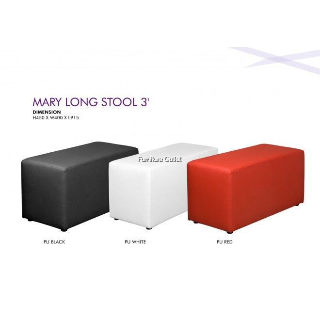 Mary Long Stool 3'