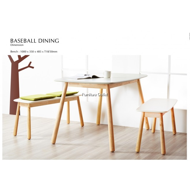 BASEBALL DINING CHAIR