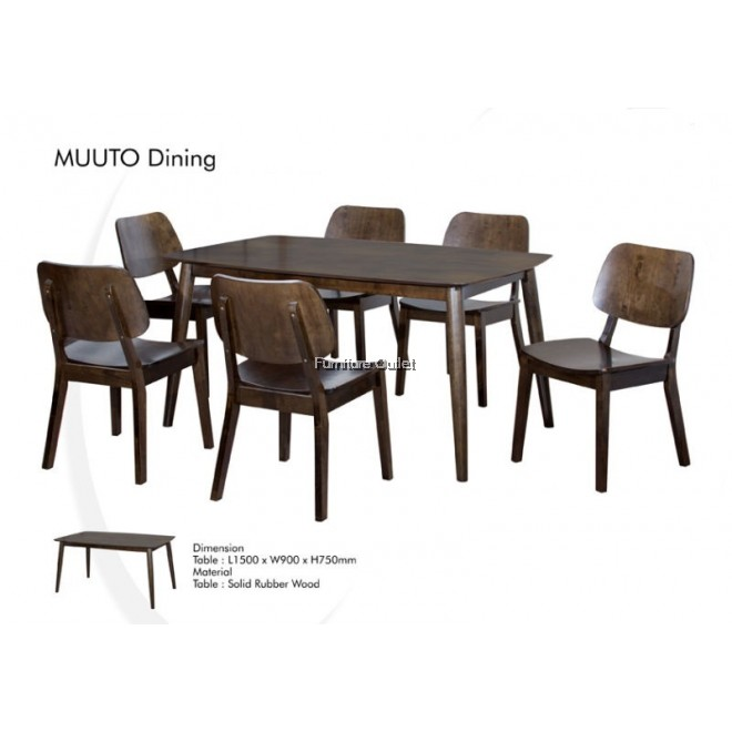 MUUTO 900X1500 DINING TABLE