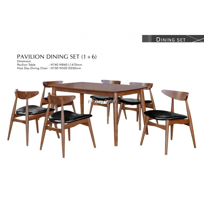 PAVILION 33 Dining Set