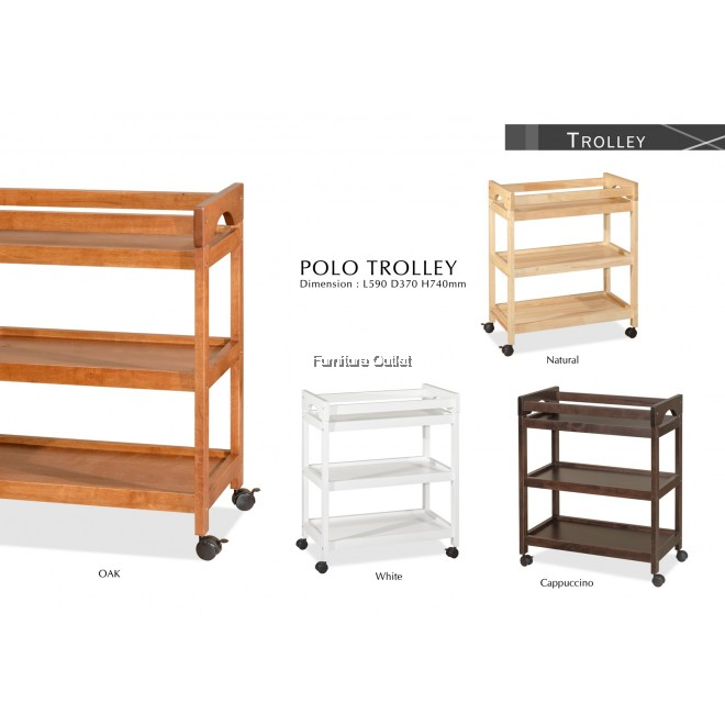 POLO 3TIERS TROLLEY