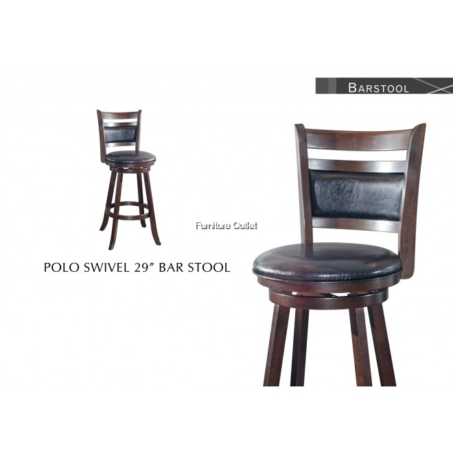 POLO SWIVEL BARSTOOL (H29